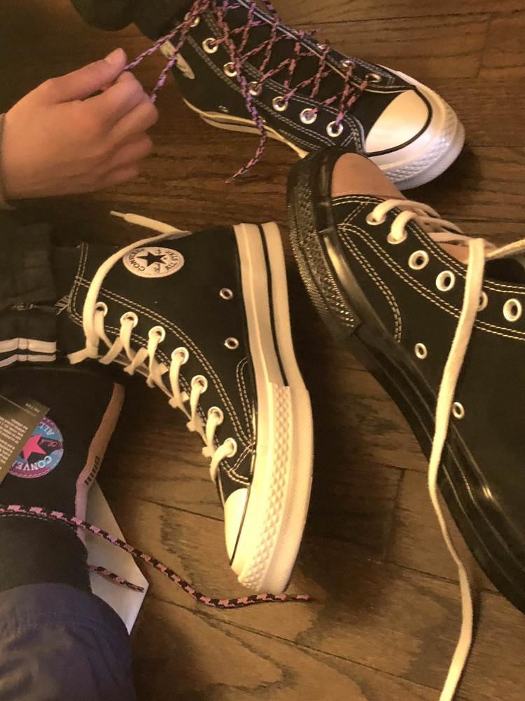 Beautiful shoes!!! I'm so in love with this shoes they are so stylish!!! Also comfortable. These sneakers were gifted from Converse in exchange for an honest review.