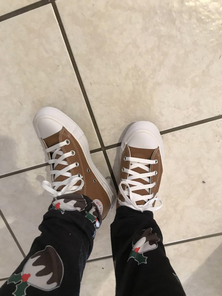 I love my new chucks. I love that they had a customizable option for no extra money. I was able to literally design every aspect of my dream shoe. I'm so in love with them! Thank you Converse for gifting me these shoes for the review.