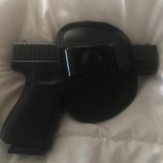 Glock19, gen 4 in iwb holster