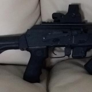 Chiappa PAK-9 with SB Tactical SOB brace, Red Dot Sight, and Stark SE-5 angled foregrip