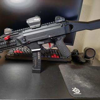CZ Scorpion EVO 3 S1 Pistol Black 9mm 7 72-inch 20rd Adjustable Sights