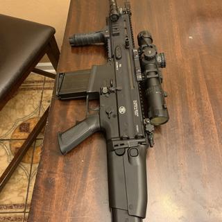 FN SCAR 17S Black  308 Win / 7 62 X 51 16-inch 20Rds