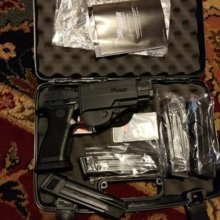 Sig Sauer P320 X-Five Full Size Nitron Black 9mm 5-inch Barrel 21 Rounds