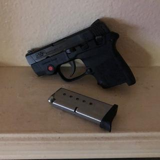 Love the S& W Bodyguard 380! Great fit for your pocket and very accurate.