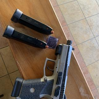 CZ P-07 Urban Grey Suppressor-Ready Urban Grey 9mm 17Rds