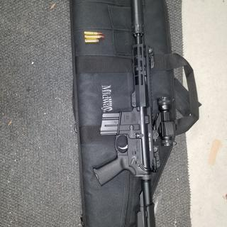 Range ready...with suppressor added.