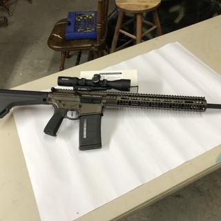 2A Armament Xanthos LR308 / SR-25 Receiver Set Black  308 Win / 7 62 X 51