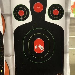 First 5 shots through 3 holes — distance 10 yards