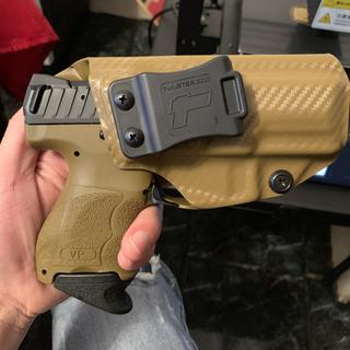 Fits a Tulster  IWB holster perfect