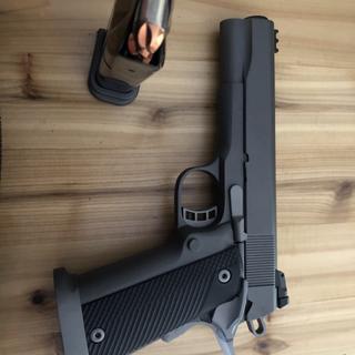 Armscor Rock Island M1911-A2 Ultra Black 10 mm 5 inch 16 rd Adjustable Rear  Sight Front Fiber Optic Sight
