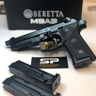Beretta M9A3 Black 9mm 5-inch 17Rds Decocker Only
