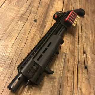 Holosun on the Mossberg Shockwave. Open circle reticle is perfect for this baby.