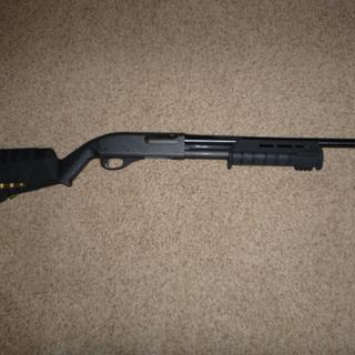 "Mossberg 90335 Remington 870 12 Gauge 18.5/"" Security Barrel Blued Bead Sight"