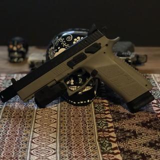 CZ P-09 Urban Grey Suppressor-Ready Urban Grey 9mm 5 2-inch 21Rds