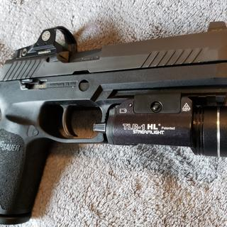 Sig Sauer P320 RX Full Size Black 9mm 4 7-inch 17Rds w/ Sig Romeo 1 Red Dot  Night Sights