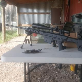 Remington Model 700 Tactical Chassis Black  338 Lapua Magnum 26-inch 5rd