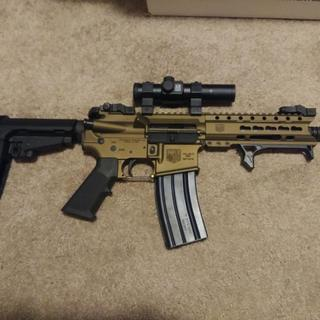 My Diamondback DB-15 Pistol with the SBA3 Brace