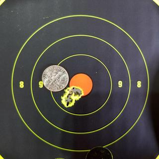 6.5 Creedmoor & Hornady ELD-X is an amazing combination.  Picture is 3 shots at 100 yards.  Awesome!