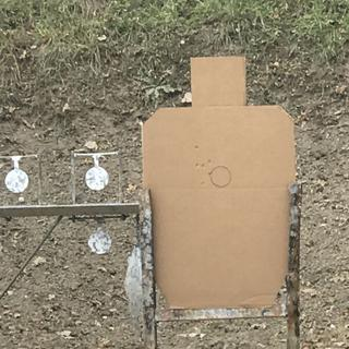 15 yards out first shots.