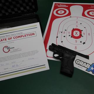 Successfully completed my conceal carry class.