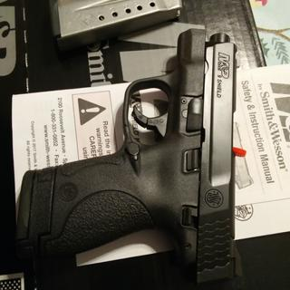 My first handgun.  I figured if Dirty Harry went with a Smith & Wesson . . . .