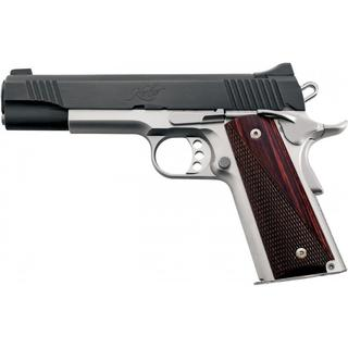 Kimber Custom II 45ACP 5 Inch 7 Rd Fixed Sights Two Tone Black/ Stainless
