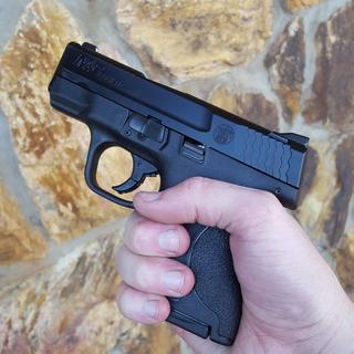 Grip without the extended magazine.