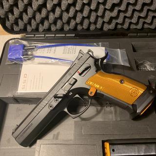 CZ 75 Tactical Sport Orange / Black 9mm 5 4-inch 20Rd