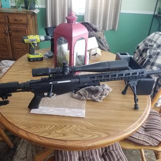 My 6mm creedmoor with Vortex Viper Hs Lr 6-24x50. Absolutely love this gun