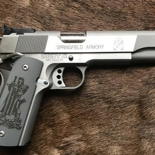 Springfield 1911 Loaded Target Stainless 9mm 5-inch 9Rd