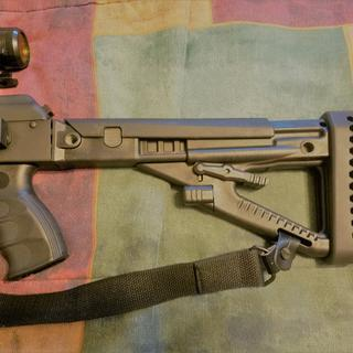 Pro Mag Industries AK47 Stock Set Black (Fiream Not Included)