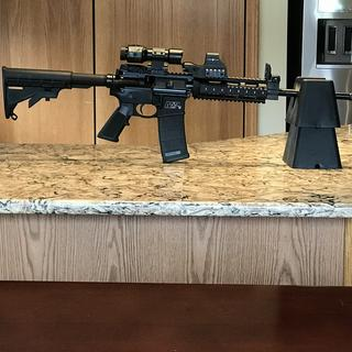 Perfect inexpensive AR15 under $500 thanks GAG accurate no problems with about 1000rnds shot