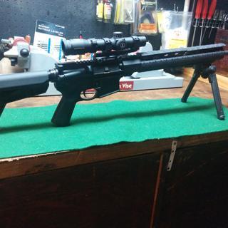 Leupold VX-R 1.5x4 Patrol Rifle Scope, Magpul bipod, Leupold Mark IV mount. This rifle should shoot.