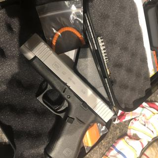 Glock G48 Compact Silver 9mm 4 17-inch 10Rds Fixed Sights