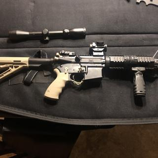 Couple part upgrades and red dot