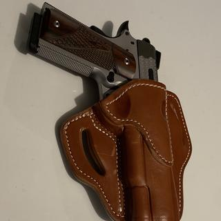 Awesome 1911 deserves a nice leather holster. Love it!