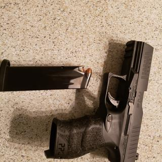 Walther PPQ M2 Black  45 ACP 4 25-inch 12Rd Adjustable Sights