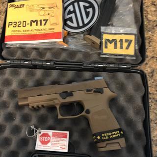 Sig Sauer P320 M17 Coyote 9mm 4 7 inch 17 Round with Safety