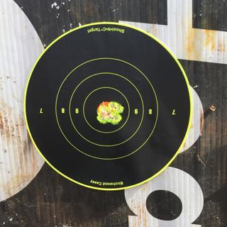 """1/2""""groups at 50yards 15 shots"""
