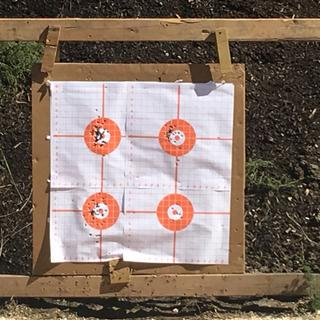 Five different types of 9mm ammo.  Flawless function. Stock trigger 25 feet.