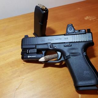 Glock G19 Gen 5 MOS 9mm 4 02-inch Barrel 15 Rounds with Forward Serrations