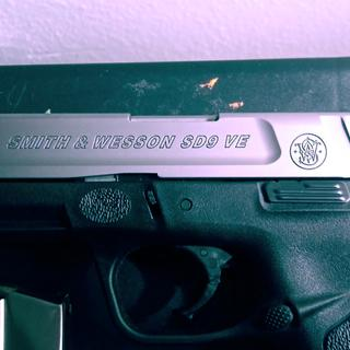 Great looking Sith & Wesson engraving
