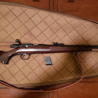 CZ 457 Lux Blue / Wood  22 LR 24 8-inch 5Rds