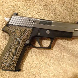 P226 with 357 sig barrel installed.
