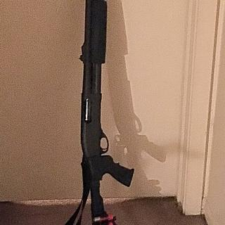 The easiest of modifications. And underneath the changes is the classic Remington 870 Express 12ga!