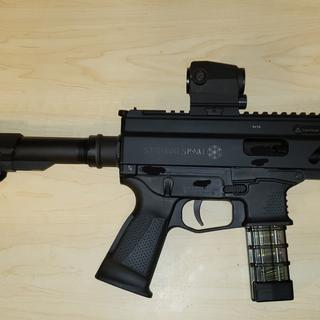 Grand Power Stribog SP9 A1 Black 9mm 8-inch 20Rds