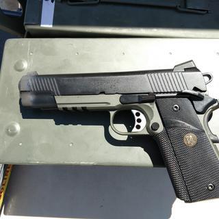 Springfield Loaded Operator MC (CA Compliant) Black / OD Green  45 ACP  5-inch 7Rds