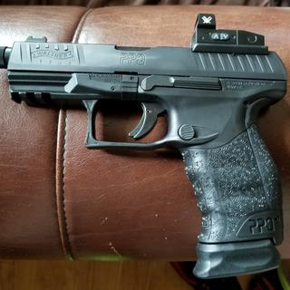 Awesome handgun. Incredible trigger, very comfortable to hold and shoot.