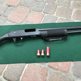 Mossberg Shockwave w/regular and mini-shell