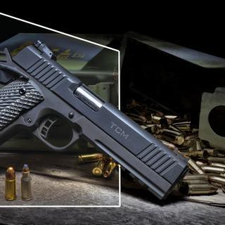 Well built firearm.